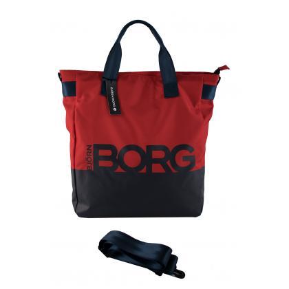 Björn Borg SHOPPER Piros Női Válltáska