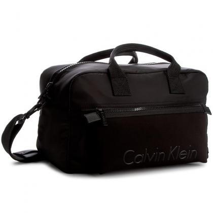 Calvin Klein Alec Medium Duffle Fekete Unisex Utazótáska