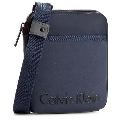 Calvin Klein Alec Mini Flat Cross Sötét kék Férfi Oldaltáska