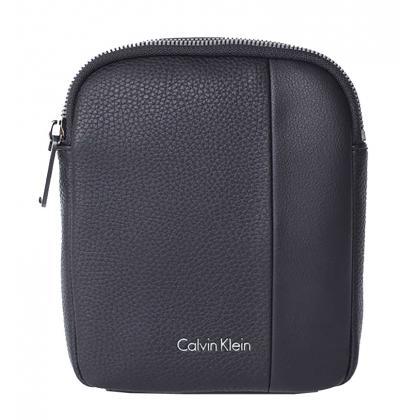 Calvin Klein Alist4ir Mini Flat Crossover Fekete Férfi Válltáska