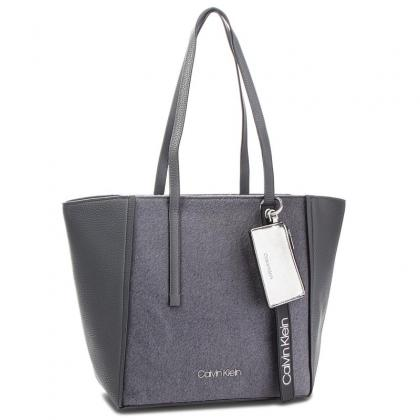 Calvin Klein CK Base Medium Shopper Wool Szürke Női Divattáska