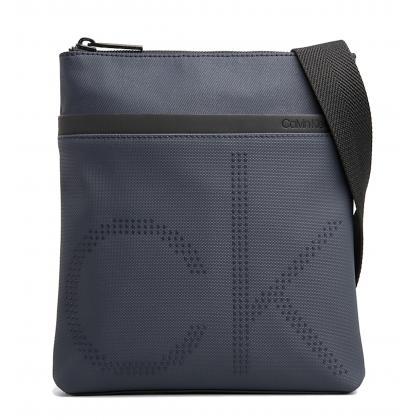 Calvin Klein CK Point Flat Crossover Kék Férfi Oldaltáska