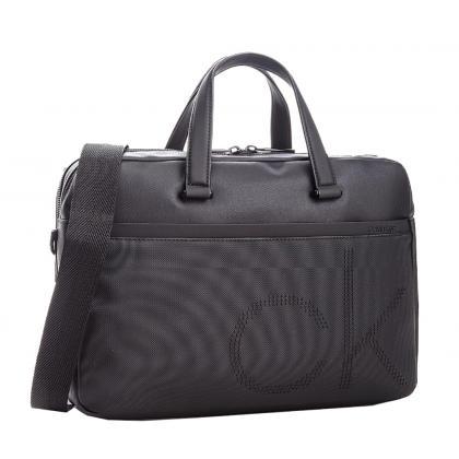 Calvin Klein CK Point Laptop Bag Fekete Férfi Laptoptáska
