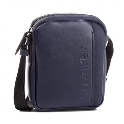 Calvin Klein Elevanted Logo Mini Reporter Kék Férfi Oldaltáska