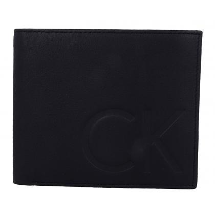Calvin Klein F1nn 10CC + Coin Sötét kék Férfi Pénztárca