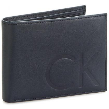 Calvin Klein F1nn 5CC+Coin Sötét kék Férfi Pénztárca