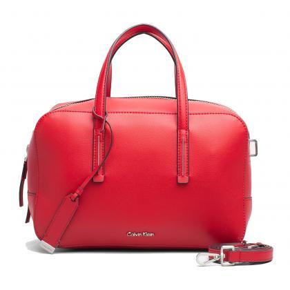 Calvin Klein Frame Duffle Piros Női Kézitáska