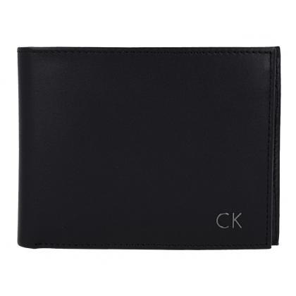 Calvin Klein L3ON 5CC+COIN Fekete Férfi Pénztárca