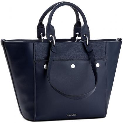 Calvin Klein Le4 Large Tote Kék Női Válltáska