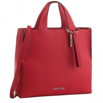 Calvin Klein Neat Shopper Piros Női Kézitáska