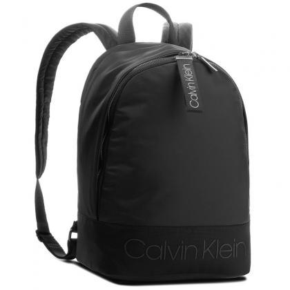 Calvin Klein Shadow Round Backpack Fekete Férfi Hátizsák