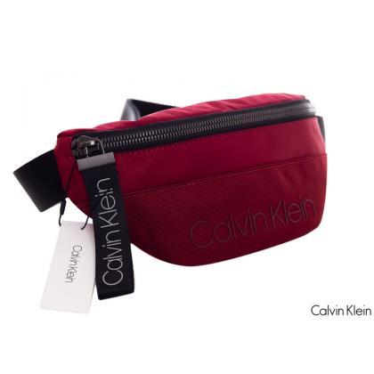 Calvin Klein Shadow Waistbag Bordó Férfi Övtáska