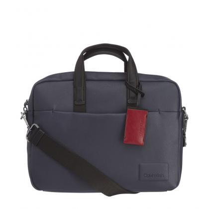 Calvin Klein Task Force 1 Gusset Kék Férfi Laptoptáska