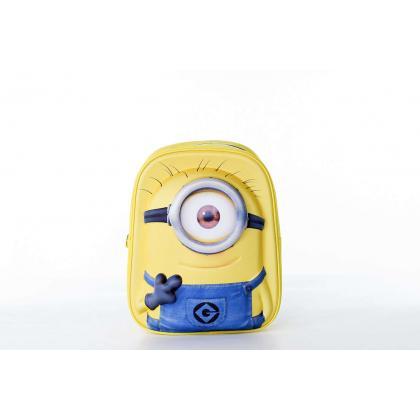 Disney Minion Mochila 1Eye 3D Sárga Gyerek Hátizsák