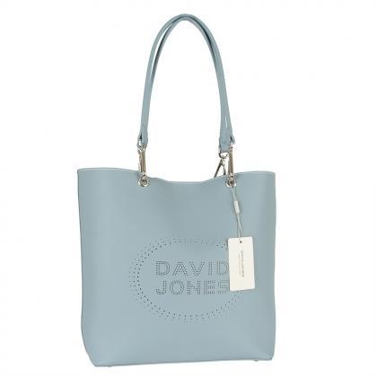 David Jones 6223-2 Világos kék Női Válltáska