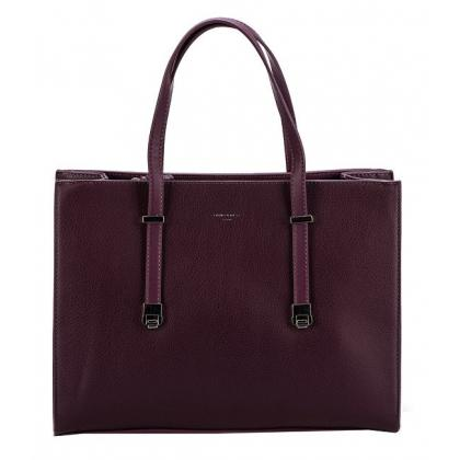 David Jones CM3909 Burgundi Női Divattáska