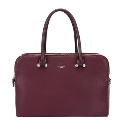 David Jones CM4043 Burgundi Női Divattáska