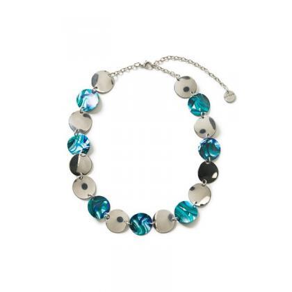 Desigual Collar Split Kék Női Nyaklánc