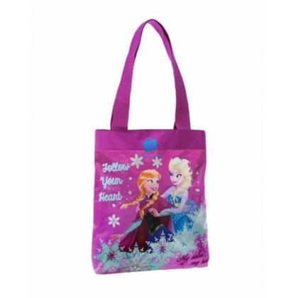 Disney Elsa Rózsaszín Gyerek Bevásárlótáska
