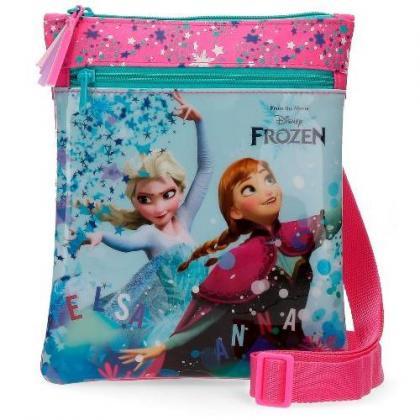 Disney Elza és Anna Rózsaszín Gyerek Váll és oldaltáska