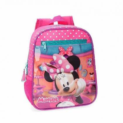 Disney Minnie Rózsaszín Gyerek Hátizsák