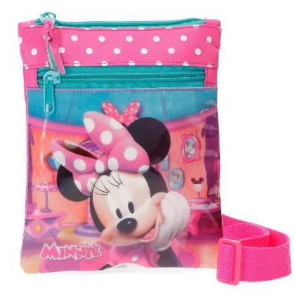 Disney Minnie Rózsaszín Gyerek Váll és oldaltáska