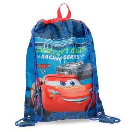 Disney Racing Series Kék Gyerek Tornazsák