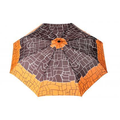Doppler Magic Carbonsteel Mikado Narancs-Mintás Női Esernyő
