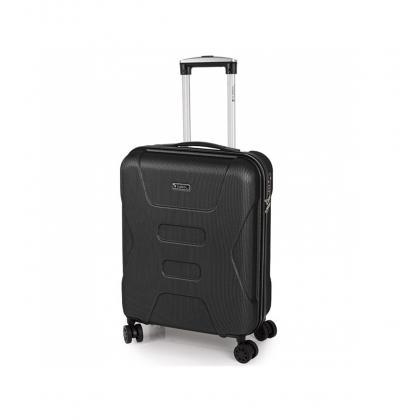 Gabol Custom Fekete Unisex Kabinbőrönd