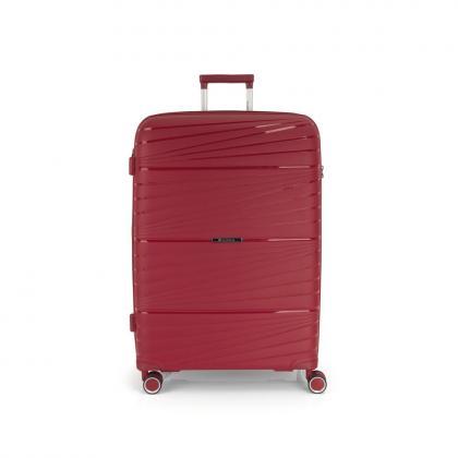 Gabol Kiba 4 Kerekes Piros Bővíthető Nagy Bőrönd