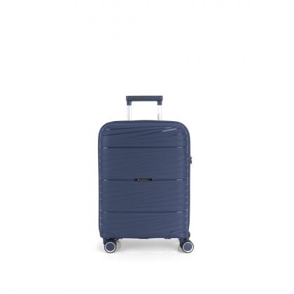 Gabol Kiba 4 Kerekes Sötétkék Kabinbőrönd