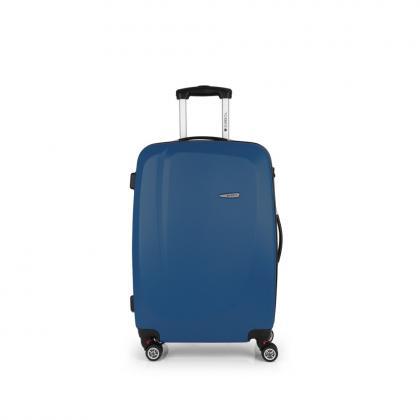 Gabol Line 68 cm Kék 4 kerekes Bőrönd