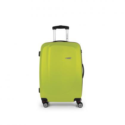 Gabol Line 68 cm Zöld 4 kerekes Bőrönd