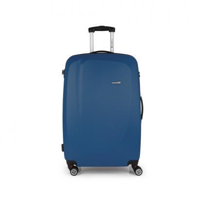Gabol Line 76 cm Kék 4 kerekes Bőrönd