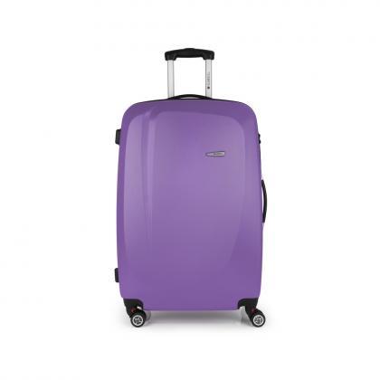 Gabol Line 76 cm Lila 4 kerekes Bőrönd