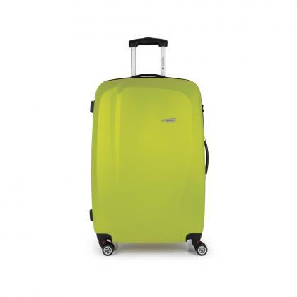 Gabol Line 76 cm Zöld 4 kerekes Bőrönd