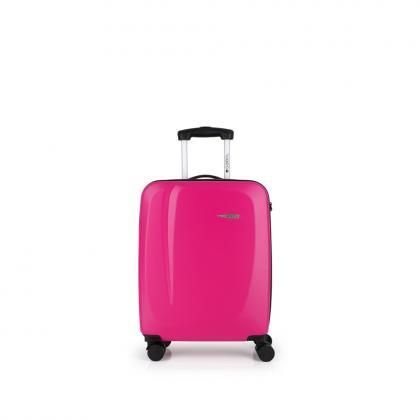 Gabol Line Rózsaszín 4 kerekes Kabinbőrönd