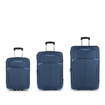 Gabol Malasia Kék Bőrönd Szett