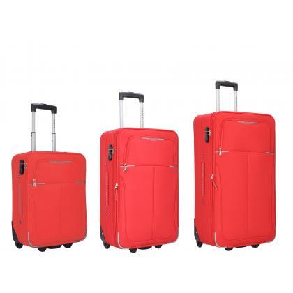 Gabol Malasia Piros Bőrönd Szett