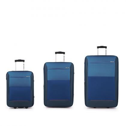 Gabol Reims Kék Bőrönd Szett