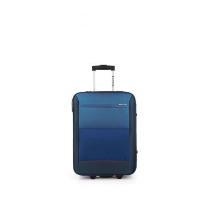 Gabol Reims Kék Kabinbőrönd