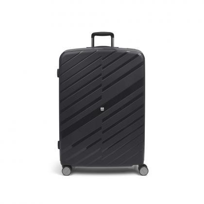 Gabol Sendai 4 Kerekes Fekete Nagy Bőrönd