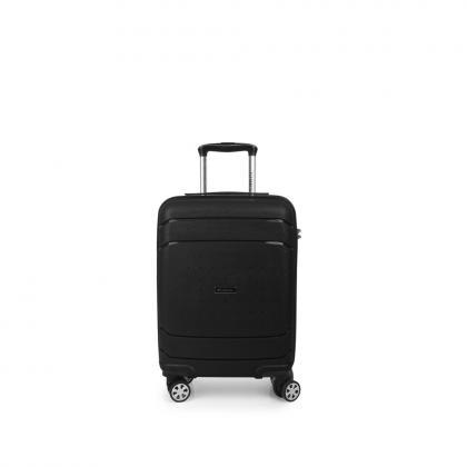 Gabol Shibuya 55 cm Fekete Kabinbőrönd