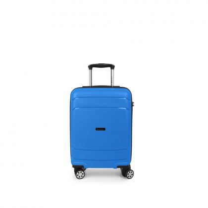 Gabol Shibuya 55 cm Kék Kabinbőrönd