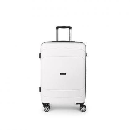 Gabol Shibuya 67 cm Fehér Keményfedeles bőrönd