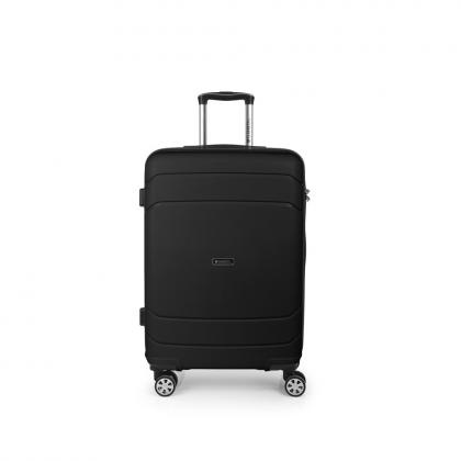 Gabol Shibuya 67 cm Fekete Keményfedeles bőrönd