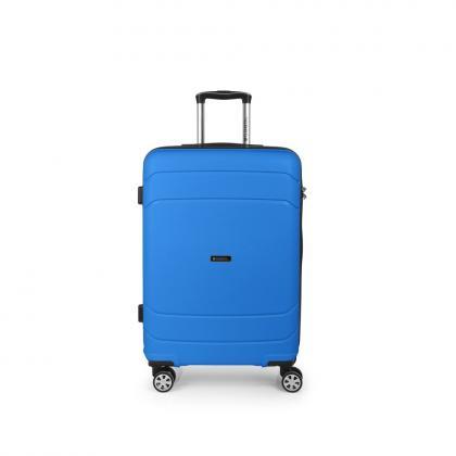 Gabol Shibuya 67 cm Kék Keményfedeles bőrönd