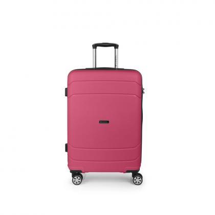 Gabol Shibuya 67 cm Rózsaszín Keményfedeles bőrönd 95f3c069ac