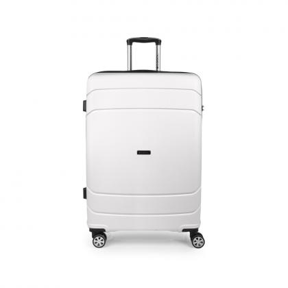 Gabol Shibuya 77 cm Fehér Keményfedeles bőrönd