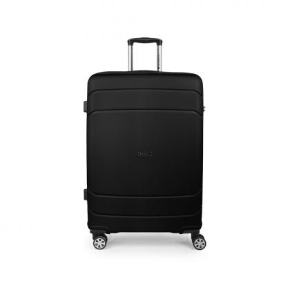 Gabol Shibuya 77 cm Fekete Keményfedeles bőrönd